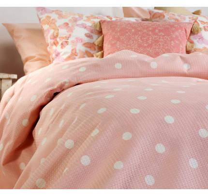 Κουβέρτα Πικέ Υπέρδιπλη 230x240 Nef Nef Posto Pink