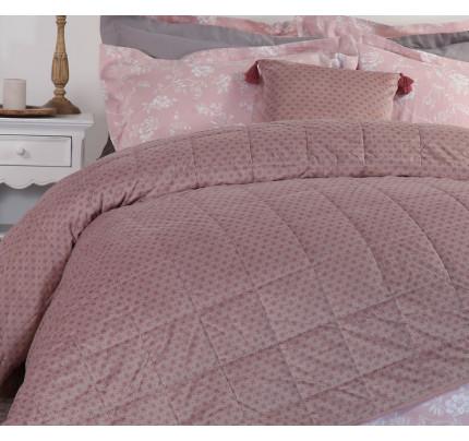Κουβερλί Υπέρδιπλο 240x230 Nef Nef Cendra Pink