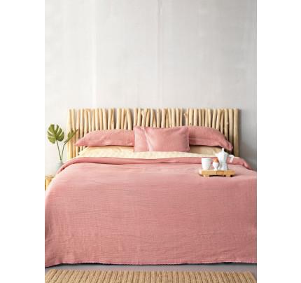 Κουβερτόριο Υπέρδιπλο 230x245 1099 Palamaiki Dark Pink