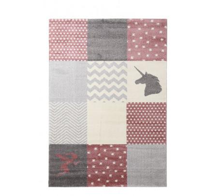 Παιδικό Χαλί Royal Carpet Galleries Dream 1.60X2.30 - Taza 2 Pink/Grey