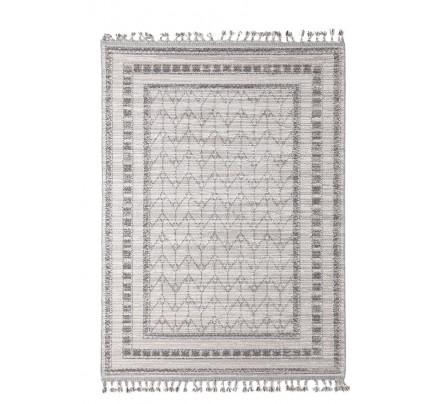 Χαλί Σαλονιού Royal Carpet Linq 1.60X1.60R - 7432C Ivory/D.Grey