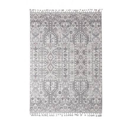 Χαλί Διαδρόμου Royal Carpet Linq 0.67X1.40 - 7541A Ivory/D.Grey