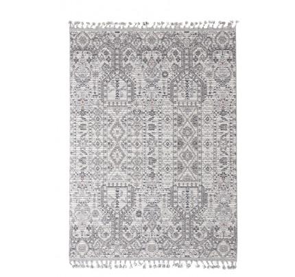 Χαλί Σαλονιού Royal Carpet Linq 1.60X1.60R - 7541A Ivory/D.Grey