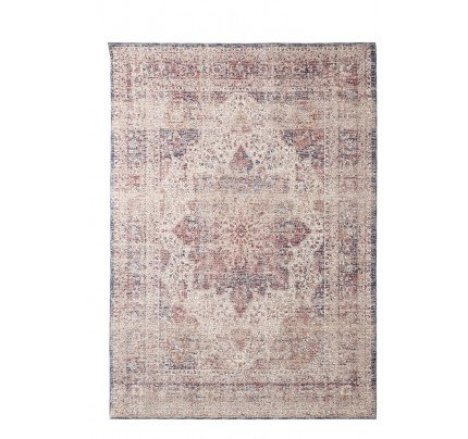 Χαλί Διαδρόμου Royal Carpet Galleriess Palazzo 0.80X1.50 - 6533C Ivory/D.Blue
