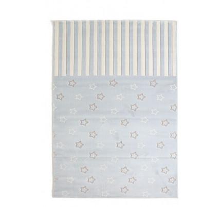 Παιδικό Χαλί Σαλονιού Royal Carpet Galleries Sky 1.60X1.60Round - 6395D L.Blue
