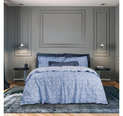 Σεντόνια King Size (Σετ) 260x280 Greenwich Polo Club Essential 2059 Σιελ-Λευκο Χωρίς Λάστιχο