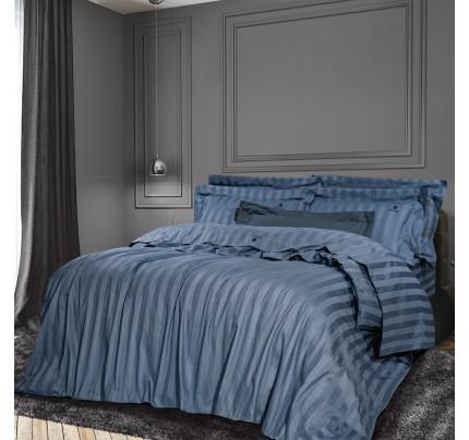 Σεντόνια King Size (Σετ) 270x280 Greenwich Polo Club Essential 2073 Μπλε Χωρίς Λάστιχο