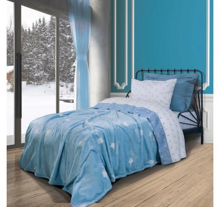 Κουβέρτα Fleece Μονή 160x220 Greenwich Polo Club Essential 2904 Μπλε