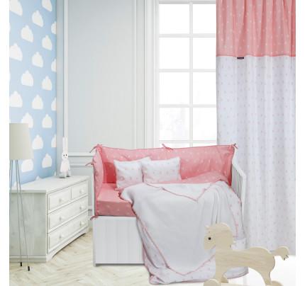 Κουβέρτα Πλεκτή Αγκαλιάς 75x100 Greenwich Polo Club Essential 2944 Λευκο-Ροζ