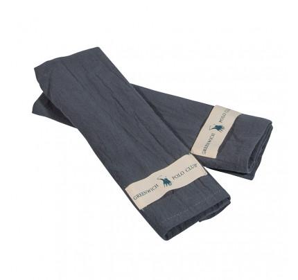 Πετσέτες Κουζίνας (Σετ 2 Τμχ) 30x45 Greenwich Polo Club Essential 2651 Μπλε