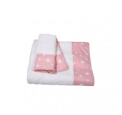 Βρεφικές Πετσέτες (Σετ 2 Τμχ) Greenwich Polo Club Essential 2921 Ροζ