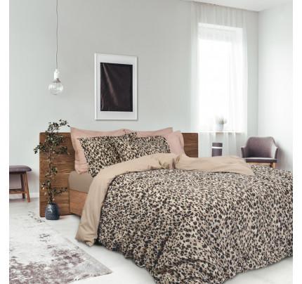 Παπλωματοθήκη Υπέρδιπλη (Σετ) 220x240 Das Home Best 4709 Μπεζ