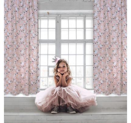 Κουρτίνα Με Τρουκς 140x260 Das Home Curtain 2159 Σιελ-Σωμων
