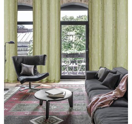 Κουρτίνα Με Τρουκς 140x280 Das Home Curtain 2028 Πρασινο