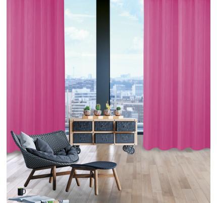 Κουρτίνα Με Τρουκς 300x280 Das Home Curtain 2047 Φουξια