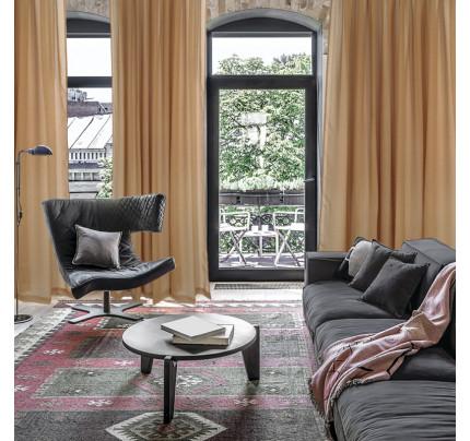 Κουρτίνα Με Τρέσα 450x270 Das Home Curtain 2188 Ωχρα