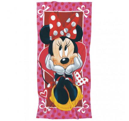 Παιδική Πετσέτα Θαλάσσης 70x140 Das Home Beach Towel Cartoon 5815 Κοκκινο-Ροζ