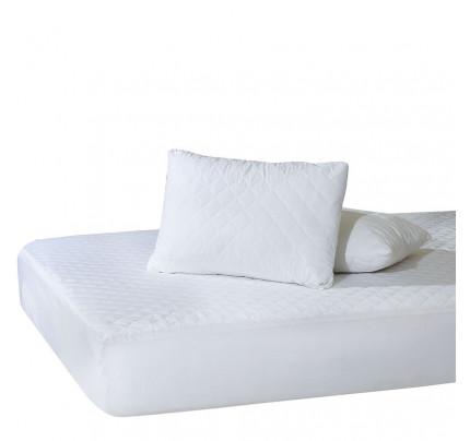 Επίστρωμα Καπιτονέ Μονό 100x200+25 Das Home Comfort Mattress Protectors 1100 Λευκο
