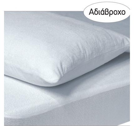 Αδιάβροχο Επίστρωμα Ημίδιπλο 120x200+35 Das Home Comfort Mattress Protectors 1089 Λευκο