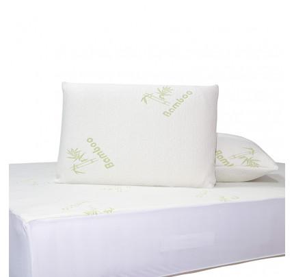 Επίστρωμα Καπιτονέ Υπέρδιπλο 180x200+25 Das Home Comfort Mattress Protectors 1097 Λευκο-Πρασινο