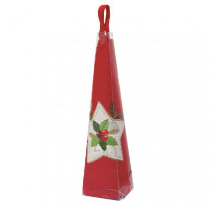 Χριστουγεννιάτικη Πετσέτα Φαγητού Φ.50 Das Home Christmas 0589 Κοκκινο