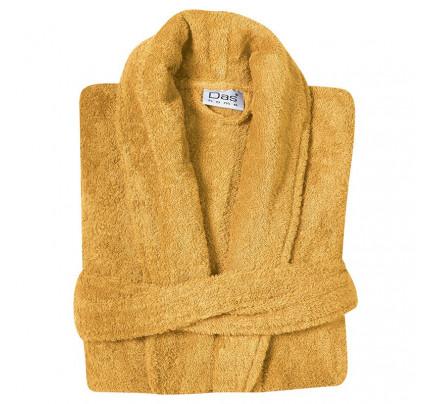 Μπουρνούζι Με Κουκούλα Das Home Soft Happy 1456 Κιτρινο