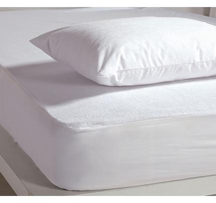Αδιάβροχο Επίστρωμα King Size 180x200+30 Nef Nef White Linen Pu Λευκό