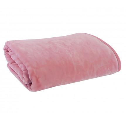 Κουβέρτα Μονή 160x220 Nef Nef Βελουτέ Loft Pink
