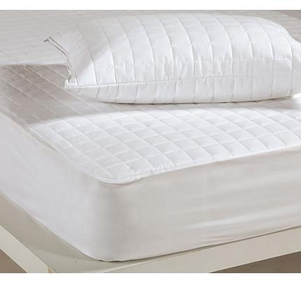 Καπιτονέ Επίστρωμα Ημίδιπλο 120x200+30 Nef Nef White Linen