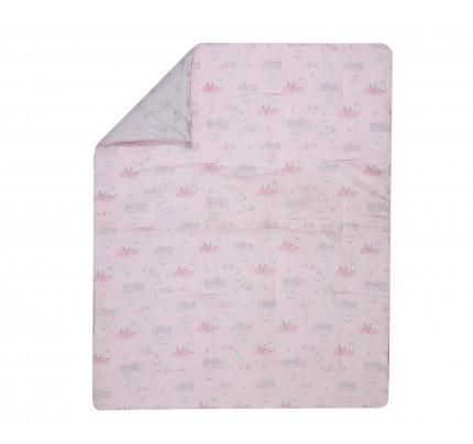 Πάπλωμα Κούνιας 110x140 Nef Nef - Kenthma Bunny Life Ροζ