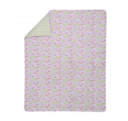 Πάπλωμα Κούνιας 110x140 Nef Nef - Kenthma Rainbow Story Ροζ