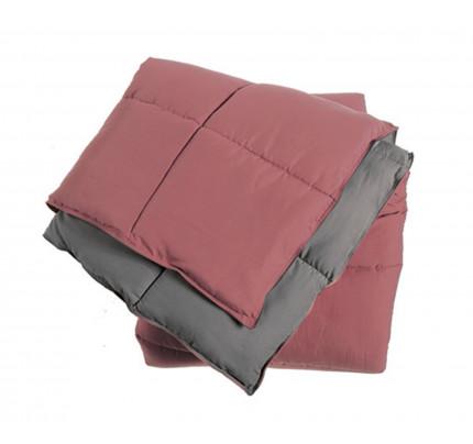 Πάπλωμα Μονό 160x220 Nef Nef Bicolor Microfiber Eng.Rose - Grey