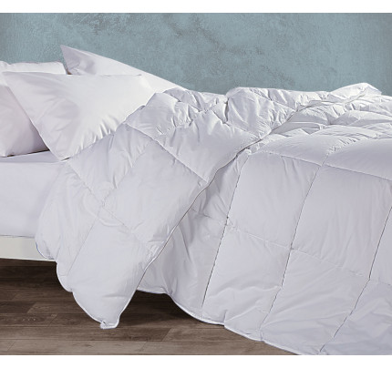 Πάπλωμα Μονό 160x220 Nef Nef White Linen Πουπουλο 60/40