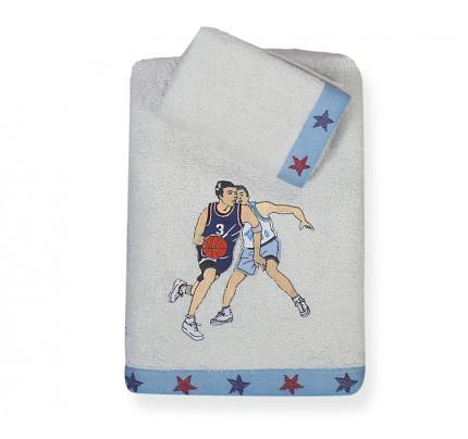 Πετσέτες Παιδικές (Σετ 2 Τμχ) Basketball