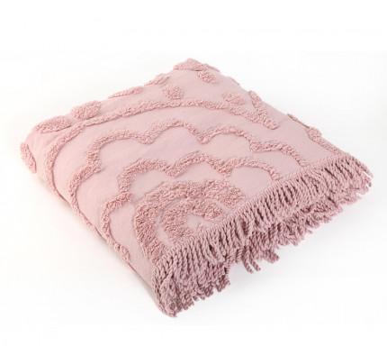 Κουβερλί Υπέρδιπλο 230x240 Nef Nef Siena Pink