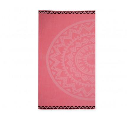Πετσέτα Θαλάσσης 80x160 Nef Nef Ζακαρ Μπορντουρα Abey Pink