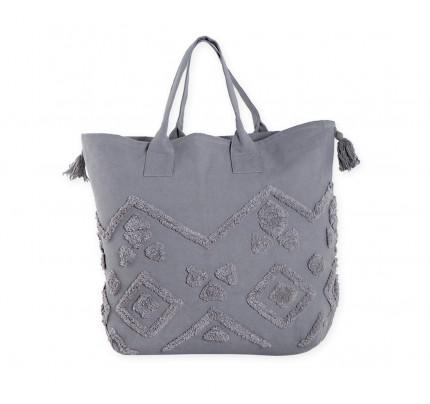 Τσάντα Θαλάσσης 54x40 Nef Nef True Grey