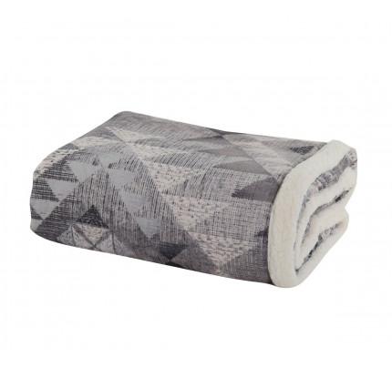 Κουβέρτα Καναπέ 130x170 Nef Nef Maya Winter Grey
