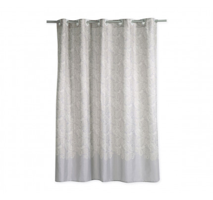 Κουρτίνα Μπάνιου 180x180 Nef Nef Ledicia Grey