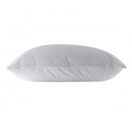 Μαξιλάρι Ύπνου 48x68 Nef Nef White Linen Comfort 700 Μέτριο