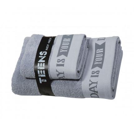 Παδικές Πετσέτες (Σετ 2 Τμχ) Nef Nef Teens Today Is Your Day Jean