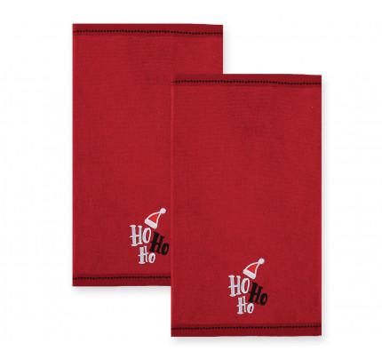 Πετσέτες (Σετ 2 Τμχ) 30x50 Nef Nef Ho Ho Ho