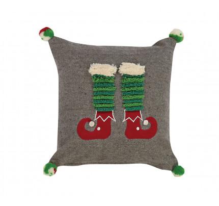 Διακοσμητικό Μαξιλάρι 30x30 Nef Nef Christmas Spirit