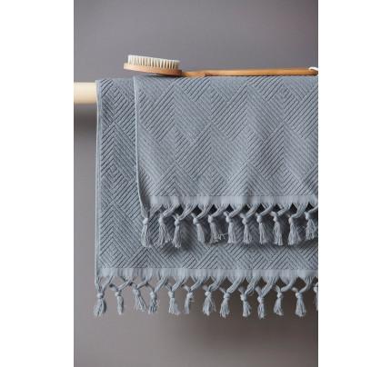 Πετσέτα Προσώπου 50X90 Palamaiki Towels Collection Vicko Blue