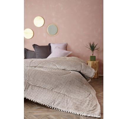 Κουβερτοπάπλωμα Υπέρδιπλο 220X240 Palamaiki Desire Blanket Desire Grey
