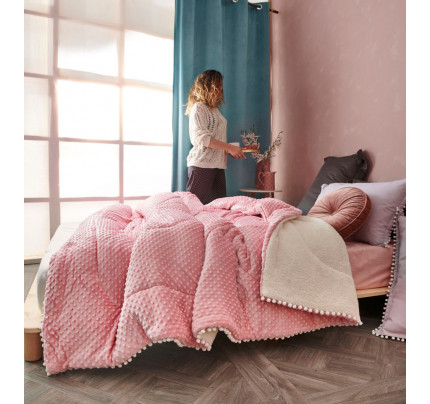 Διακοσμητική Μαξιλαροθήκη 50X50 Palamaiki Desire Blanket Desire Pink
