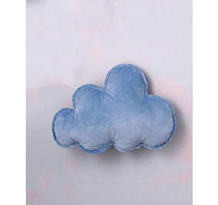 Διακοσμητικό Μαξιλάρι 46X34 Palamaiki Velvet Feel Collection Vf800 Blue
