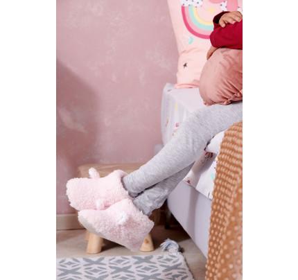 Παντοφλάκια (Ζεύγος) Βρεφικά Palamaiki New Baby Nb0127 Pink