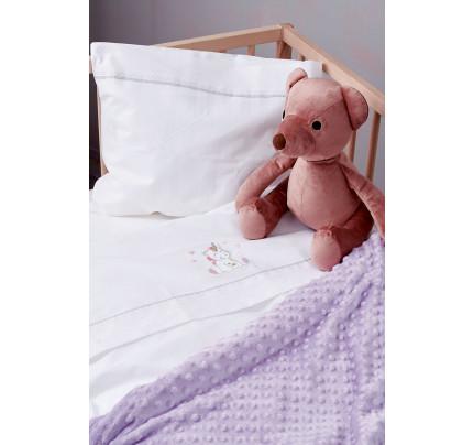 Σεντόνια Κούνιας (Σετ) 70X140+15 Palamaiki Baby Joia Bj521 Με Λάστιχο