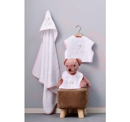 Βρεφικές Πετσέτες (Σετ 3 Τμχ) Palamaiki Baby Joia Bj521